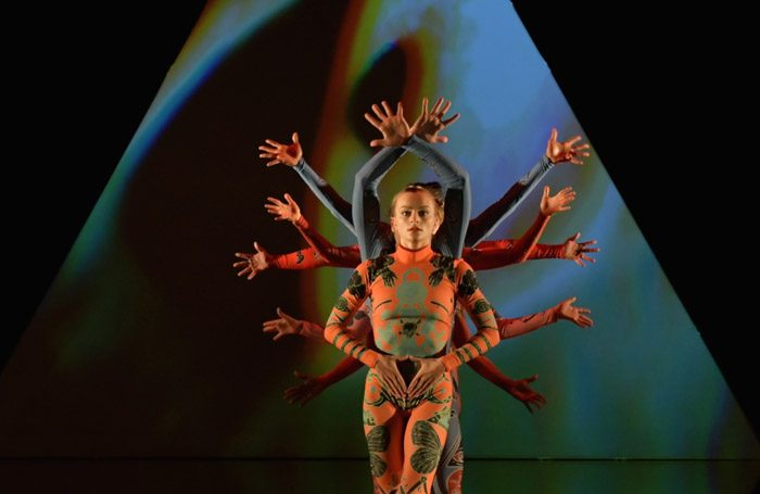 Rosie Kay Dance Company in MK Ultra at Laban Theatre, London. Photo: Brian Slater