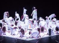 The company of NYDC in Tarantiseismic at Sadler's Wells, London
