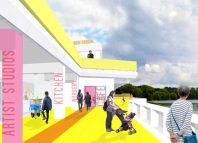 An artist's impression of the revamped Lakeside Centre