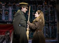 Ramin Karimloo and Christy Altomare in Anastasia on Broadway. Photo: Matthew Murphy