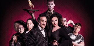 The cast of The Addams Family at Festival Theatre, Edinburgh. Photo: Matt Martin