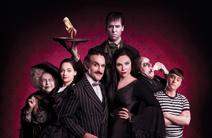 The Addams Family musical returns for second UK and Ireland tour