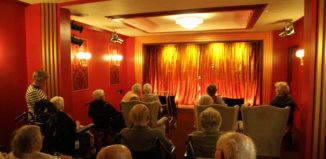 The theatre in Burwood Nursing Home, Broadstone