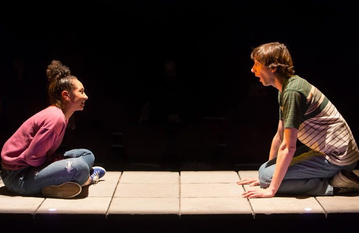 Rhodri Meilir and Alexandria Riley in How My Light Is Spent at the Royal Exchange Theatre, Manchester. Photo: Jonathan Keenan