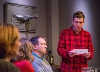 Alex-Lowe and David Leopold in Late Company at the Finborough Theatre, London. Photo: Charlie Round Turner