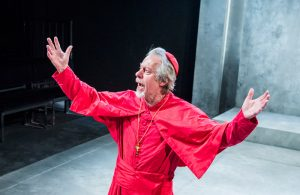 Stephen Boxer in The Cardinal at Southwark Playhouse, London. Photo: Tristram Kenton