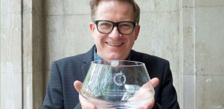 Matthew Bourne with his Critics' Circle award. Photo: Eliott Franks