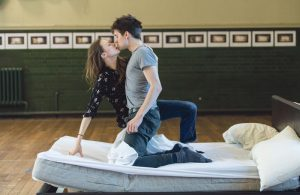 Catherine McCormack and Jack Monaghan in rehearsal for The Graduate. Photo: Manuel Harlan