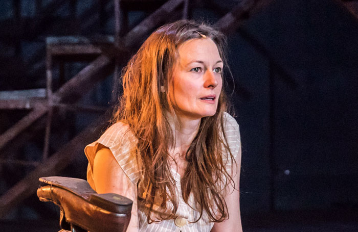 Catherine McCormack in My Brilliant Friend at the Rose Theatre, Kingston. Photo: Marc Brenner