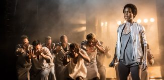 Tyrone Huntley as Judas in Jesus Christ Superstar. Photo: Johan Persson