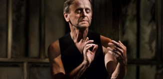 Mikhail Baryshnikov in Brodsky/Baryshnikov at the Apollo Theatre, London. Photo: Janis Deinats