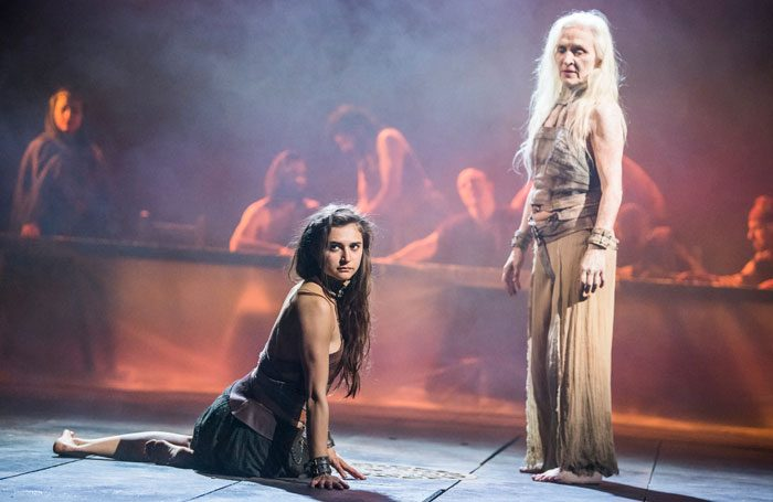 Yael Farber's Salome, at the National Theatre. Photo: Tristram Kenton