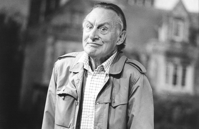 Geoffrey Bayldon in Unfinished Business in 1994. Photo: Tristram Kenton