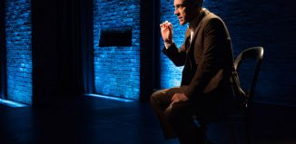 Derren Brown in Secret at the Linda Gross Theater, New York. Photo: Ahron R Foster