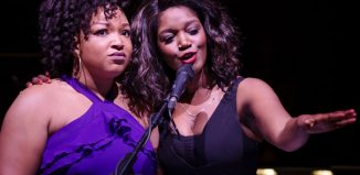 Marisha Wallace and Rachel John in The Color Purple at Cadogan Hall. Photo: Scott Rylander