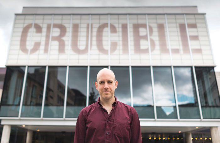 Robert Hastie, new artistic director of Sheffield Theatres. Photo: James Stewart
