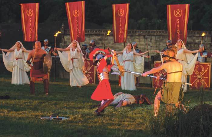 A scene from last year's production of Kynren. Photo: Peter Haygarth