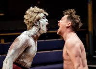 Ken Nwosu and Kevin Trainor in An Octoroon at the Orange Tree Theatre. Photo: The Other Richard