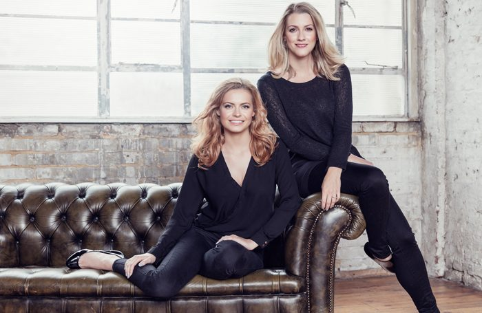 Sophie Evans and Alice Fearn will take over the roles of Glinda and Elphaba in Wicked. Photo: Darren Bell