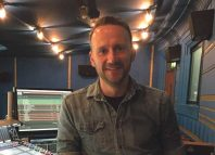 Sound engineer Leigh Davies