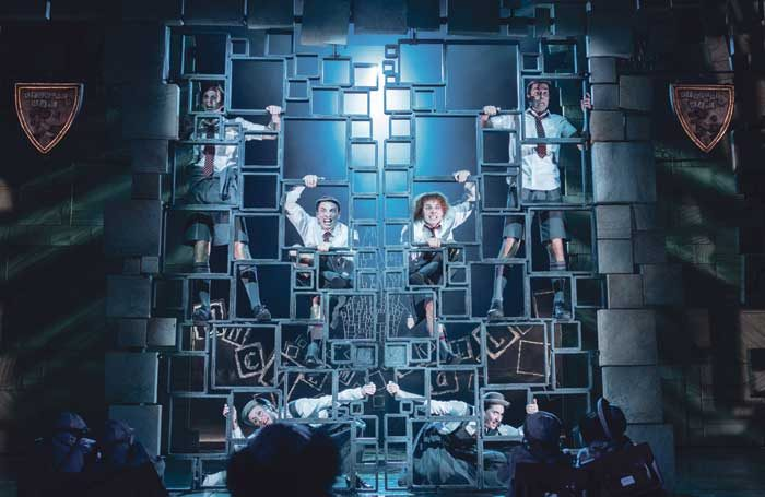 Matilda the Musical at the Cambridge Theatre, London. Photo: Manuel Harlan