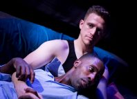 Brian Martin and Joey Akubeze in Snapshot at the Hope Theatre. Photo: Will Austin
