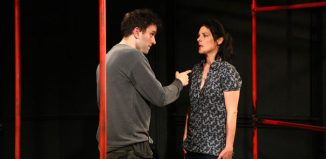 Harry Melling and Jasmine Hyde in Jam. Photo: Mathew Foster