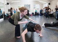 Participants of a workshop run by People Dancing. Photo: Matthew Tomkinson