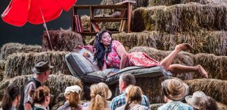 Pretty Yende as Adina in L'elisir d'amore at the Royal Opera House, London. Photo: Tristram Kenton