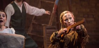 Gemma MacLean in Annie Get Your Gun at Union Theatre, London. Photo: Paul Nicholas Dyke