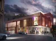 Architect's impression of the redeveloped Octagon Theatre in Bolton. Photo: Feilden Clegg Bradley
