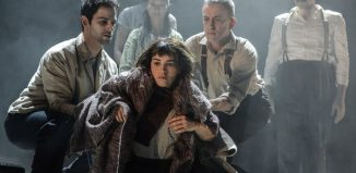 Audrey Brisson and the cast of La Strada at the Other Palace, London. Photo: Robert Day