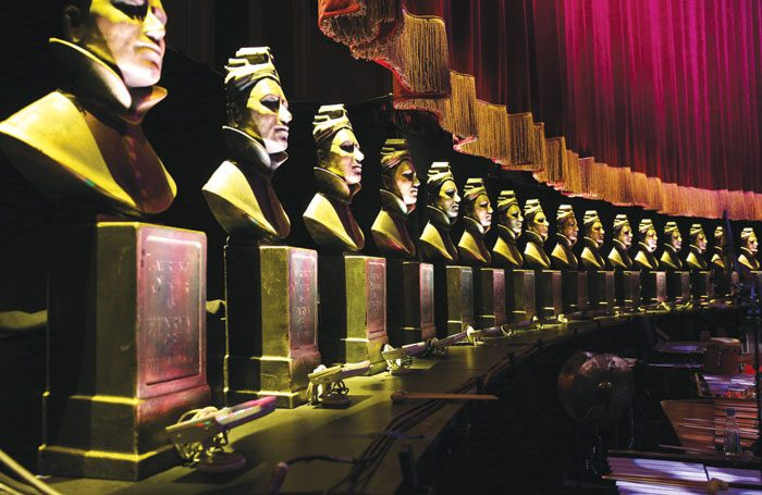 This year's Oliviers drew in 600,000 TV viewers. Photo: Darren Bell