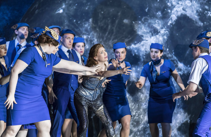 Heidi Stober and the cast of Semele at Garsington Opera. Photo: Johan Persson