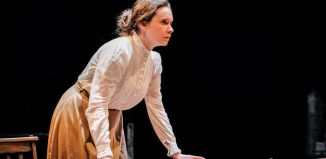 Lucy Bromilow in Anna of the Five Towns at New Vic, Newcastle-under-Lyme. Photo: Andrew Billington