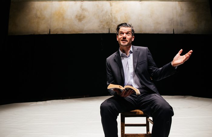 Ben Duke in Paradise Lost (Lies Unopened Beside Me) which was nominated in the awards. Photo: Zoe Manders