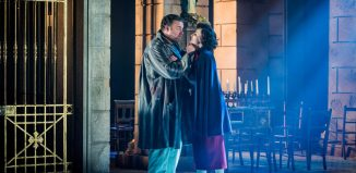 Scene from Tosca at West Horsley Place, Sussex. Photo Robert Workman