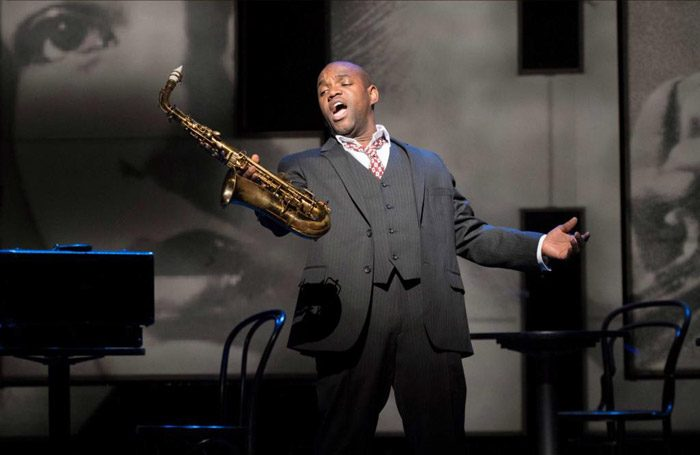 Lawrence Brownlee in Charlie Parker's Yardbird at Hackney Empire. Photo: Richard Hubert Smith