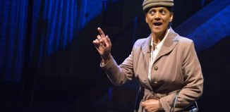 Cathy Tyson in Talking Heads at the Octagon Theatre, Bolton. Photo: Ian Tilton