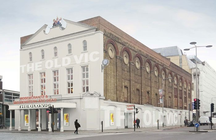 Artist's impression of the Old Vic redesign. Photo: Bennetts Associates