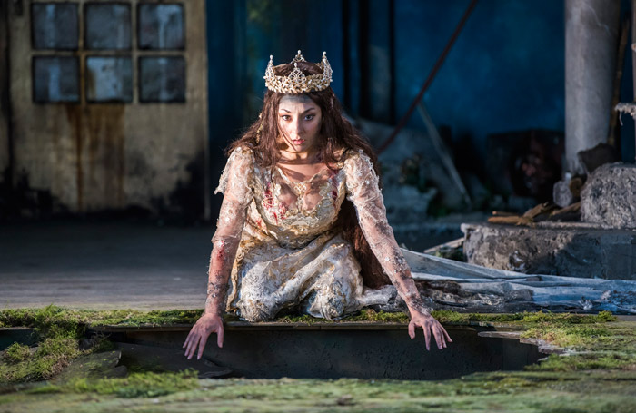 Andrea Carroll in Pelleas et Mélisande at Garsington Opera. Photo: Tristram Kenton