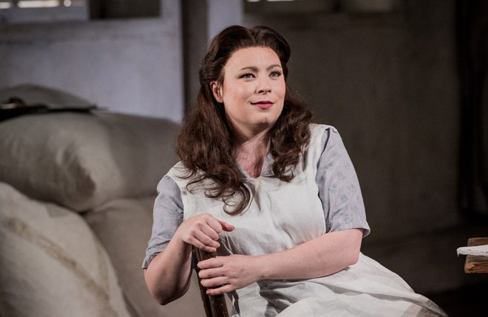 Natalya Romaniw in Grange Park Opera's Jenufa. Photo: Robert Workman