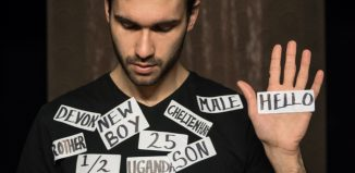 Labels by Worklight Theatre will be performed as part of the @Home festival. Photo: Benjamin Borley