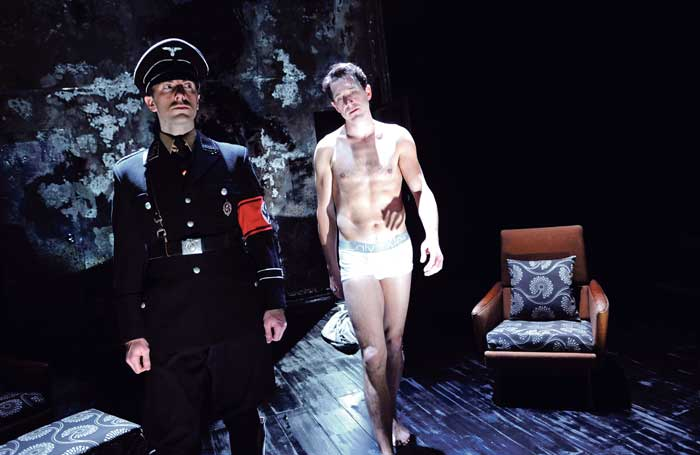Bertie Carvel (right) with Tim Steed in The Pride at the Royal Court, London, in 2009. Photo: Tristram Kenton