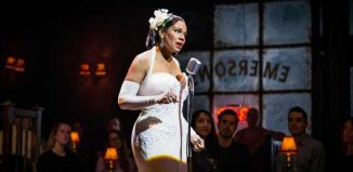 Audra McDonald in Lady Day at Emerson's Bar and Grill at the Wyndham's Theatre, London. Photo: Marc Brenner