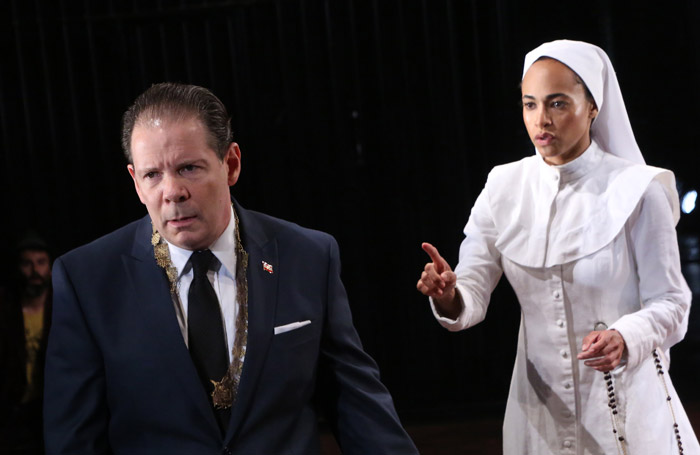 Theatre for a New Audience's Measure for Measure at Polonsky Shakespeare Center, New York. Photo: Gerry Goodstein