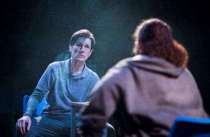 Harriet Walter in the screen version of Julius Caesar
