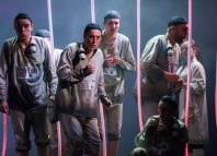 The chorus of Fidelio at Longborough Festival Opera. Photo: Matthew Williams Ellis
