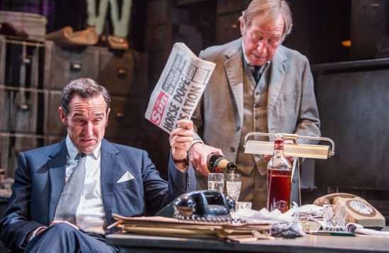Bertie Carvel in Ink at the Almeida, one of Wescombe's favourite productions