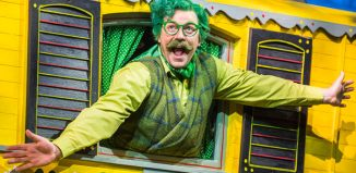 Rufus Hound in The Wind In The Willows at the London Palladium. Photo: Tristram Kenton